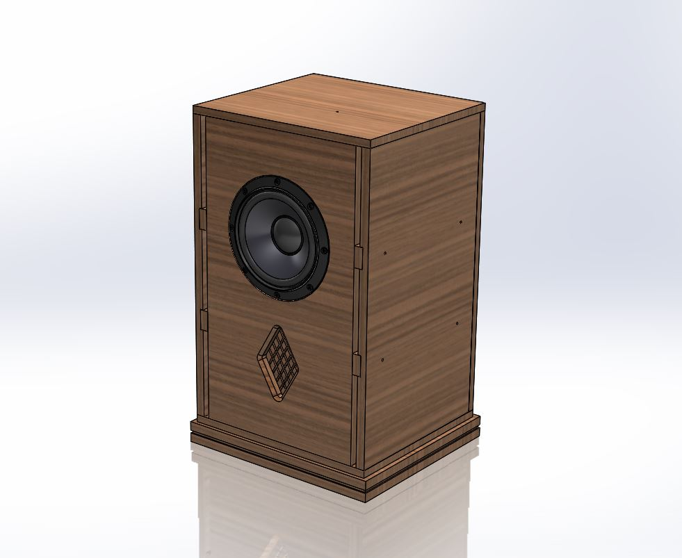 Autumn Bass Cabinet Speaker Plans