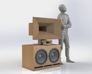 Custom Built Speaker Inspired by JBL 4350 Studio Monitor