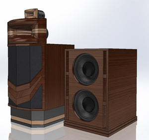 Mid-Bass Cabinet Design for Mr. Deane