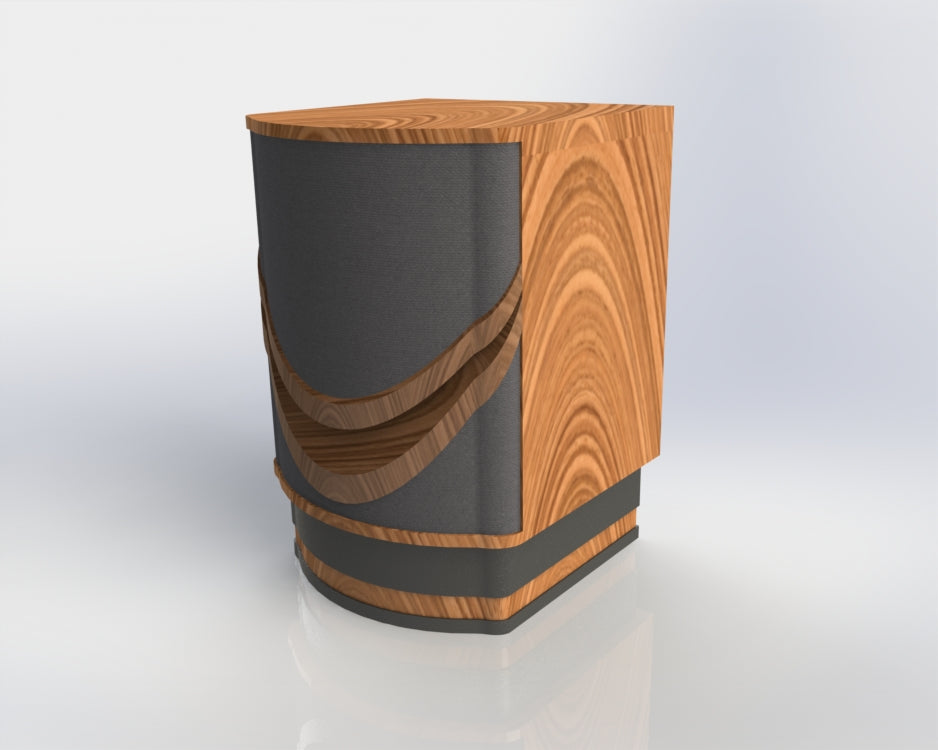 Mid-Bass Cabinet Shell Design for Mr. Deane