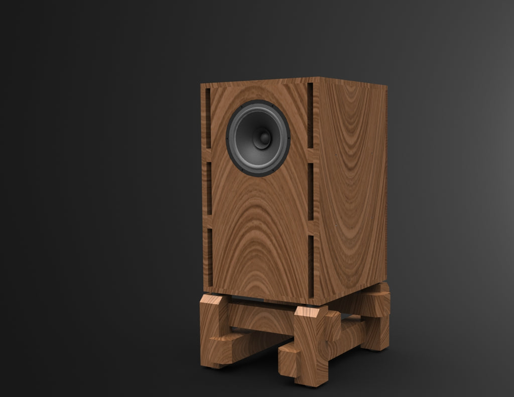 Bass Cabinet Speaker Plans SEAS FA22RCZ
