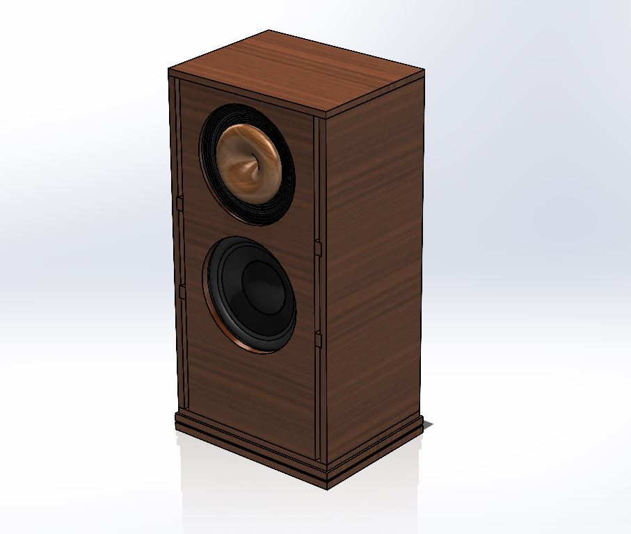 Custom Speaker Design for Mr. Carminati