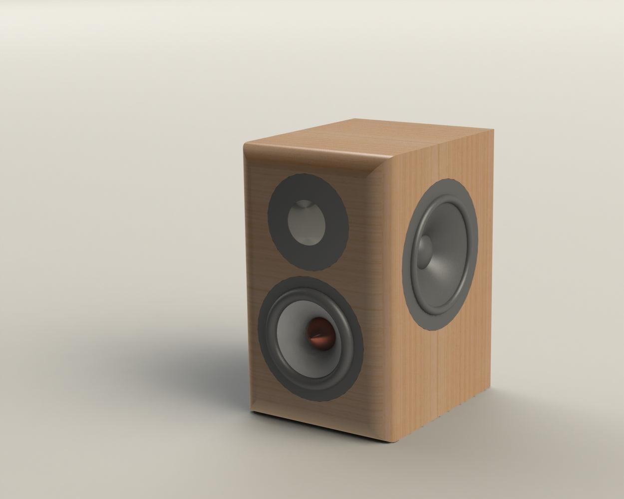 Flat Pack Speaker Cabinet for Mr. Patrick