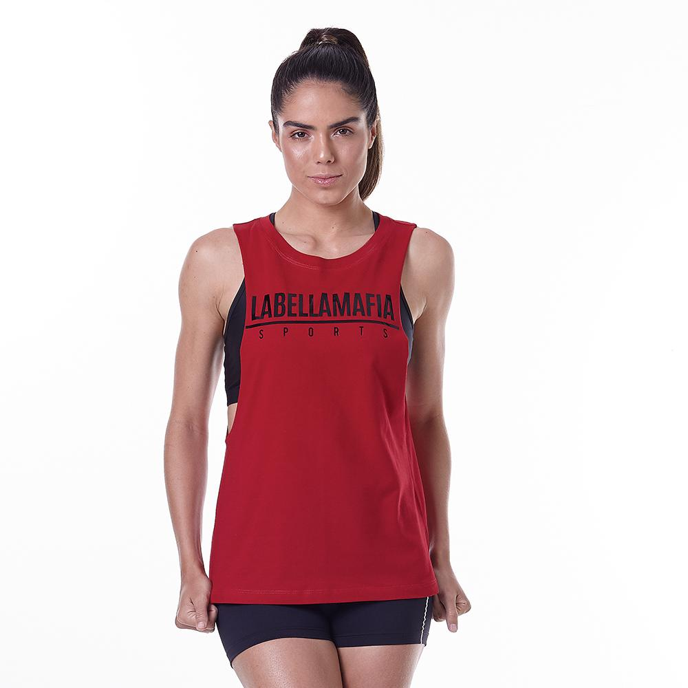 Essentials Red Tank Top