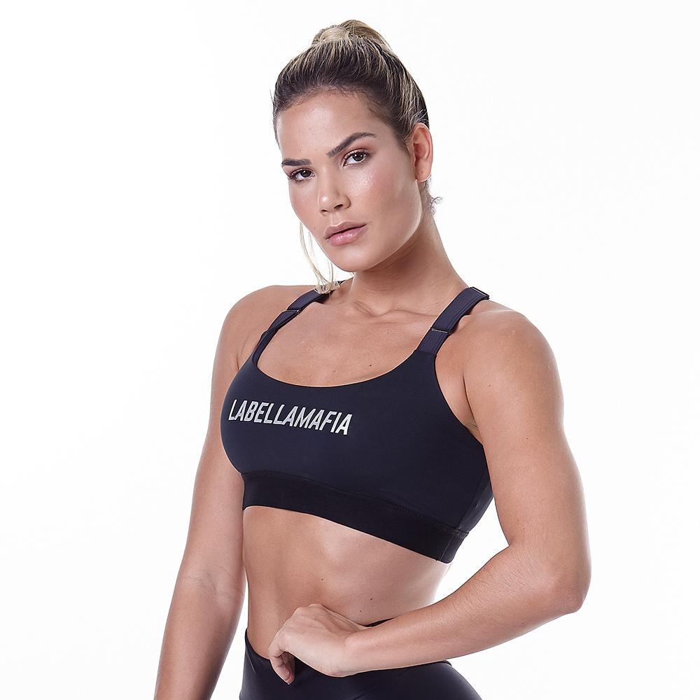 Essentials Style Black Fitness Top