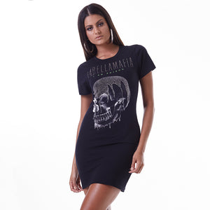 Glam Rock Skull Dress