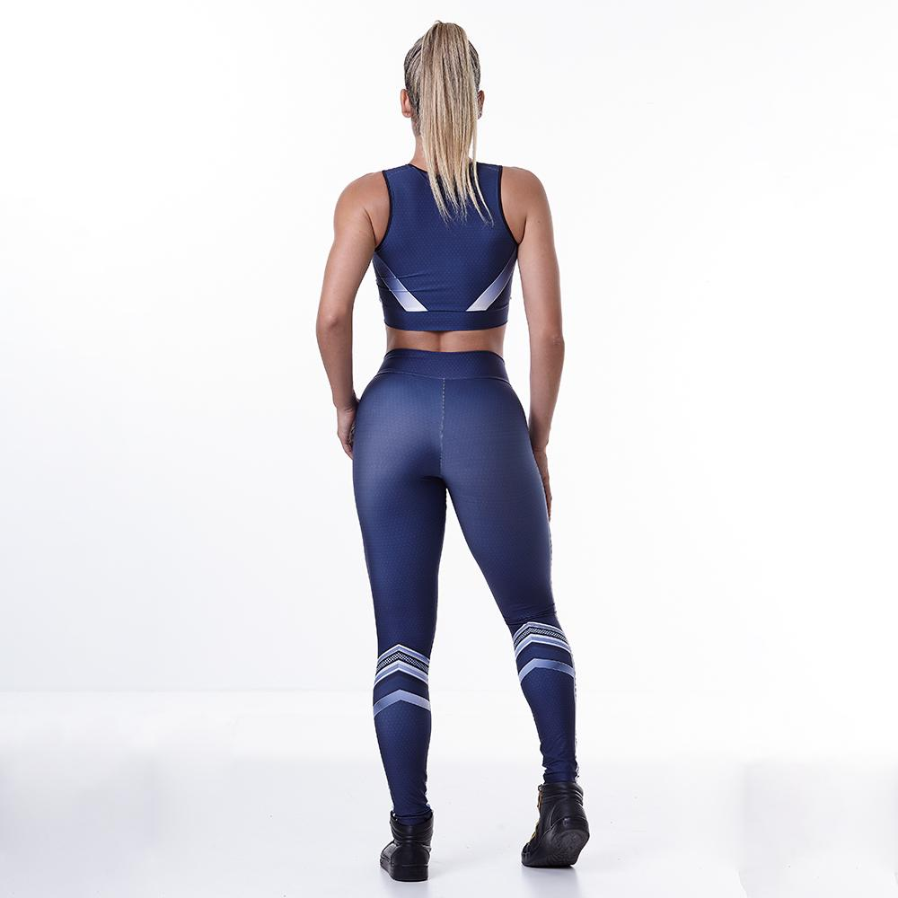 Printed Space Fitness Set