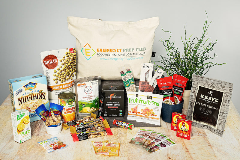 3-Day Gluten-Free Emergency Food Kit