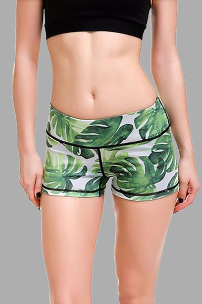 banana leaf shorts are perfect for the gym and any casual summer day.