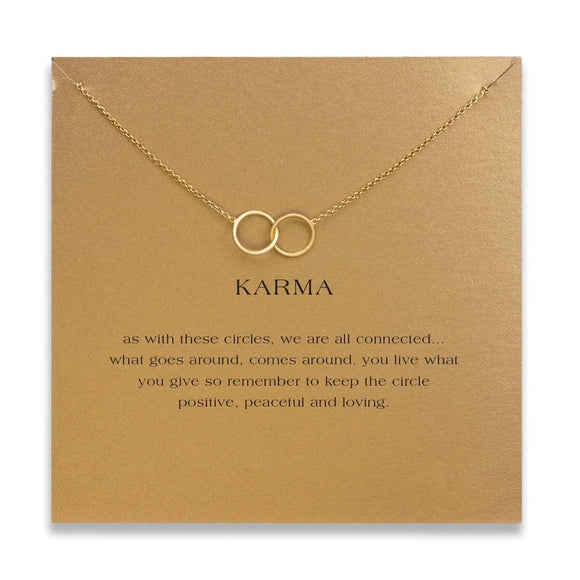 Stylisht Advisor Boutique Karma Double Circle Necklace