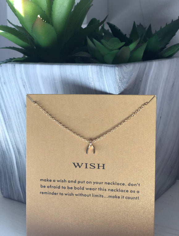 Wish Necklace | Gift Ideas | Mother's Day Gift
