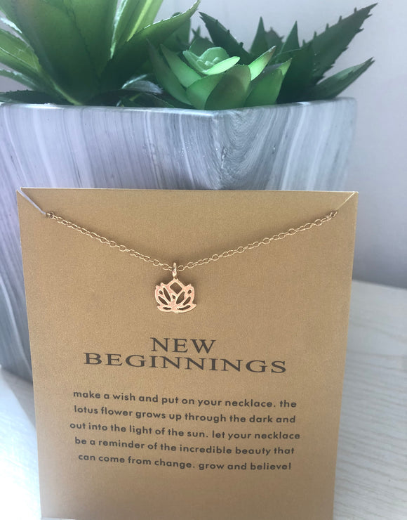 New Beginnings Necklace | Gift Ideas | Mother's Day Gift