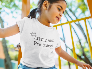 Little Miss Pre School Toddler Graphic T