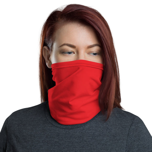 Red  Face Mask | Neck Gaiter | Covid-19