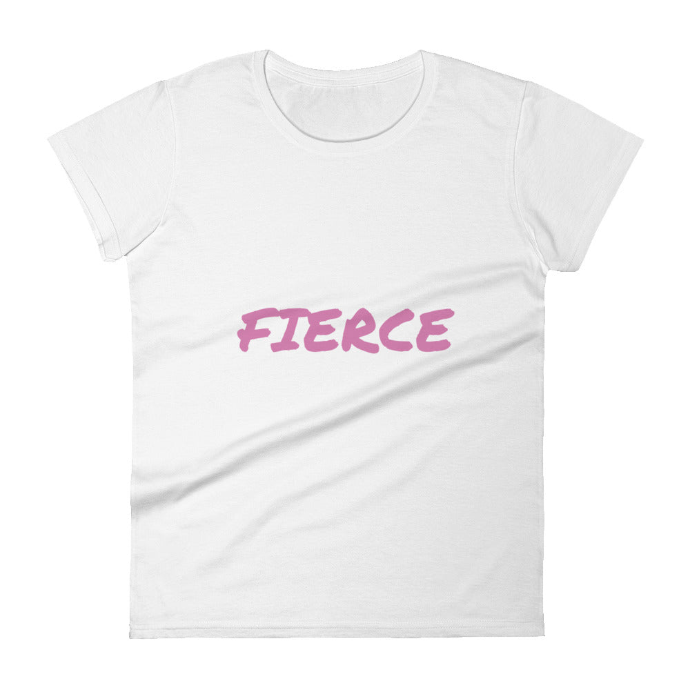 Breast Cancer Awarness Fierce Women's short sleeve t-shirt