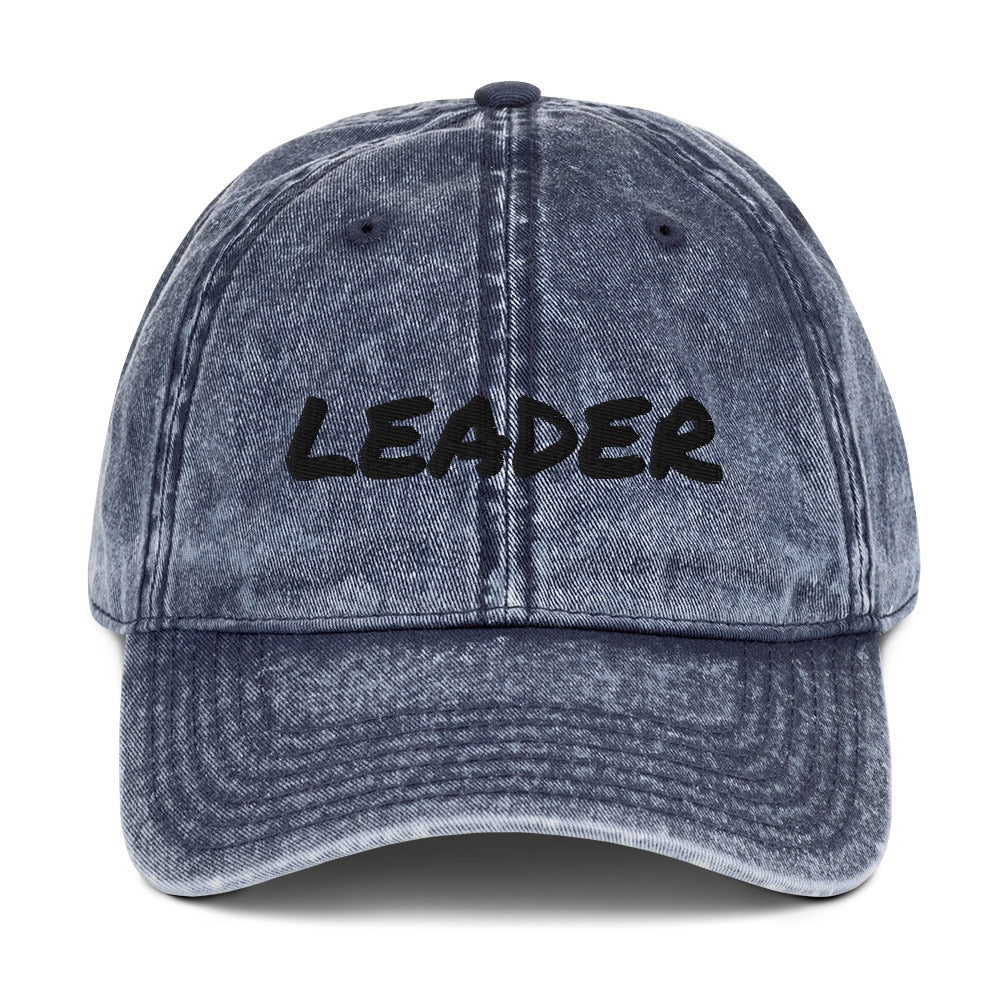 LEADER Vintage Cotton Twill Cap