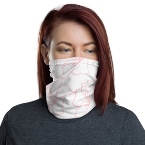 Pink Floral Face Mask | Neck Gaiter | Covid-19
