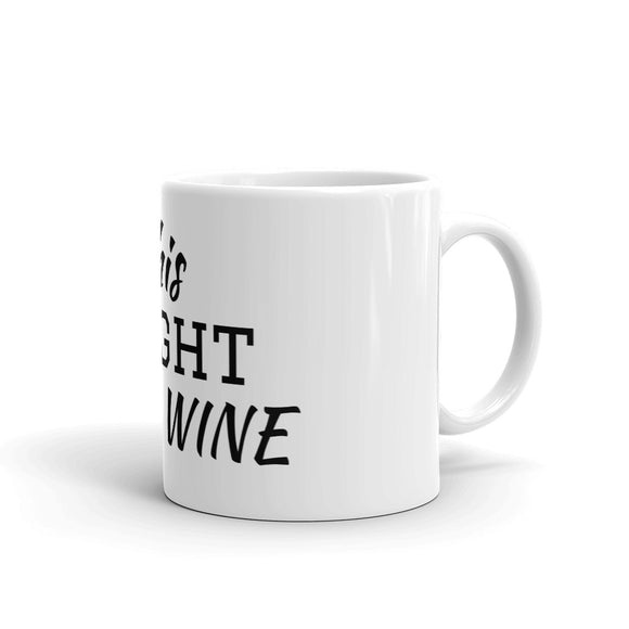 Stylish Advisor This Might Be Wine White Glossy Mug