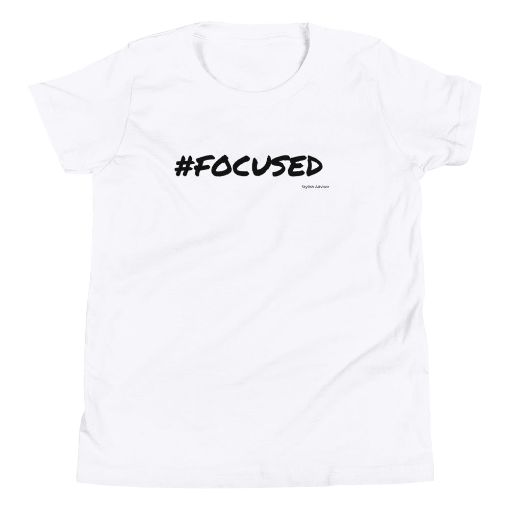 Focused Girls Graphic T-Shirt
