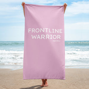 Front Line Warrior Beach / Pool Towel