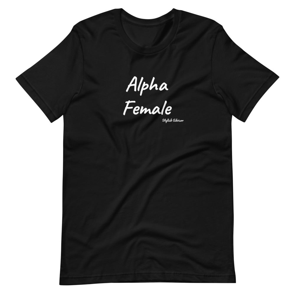 Alpha Female Short-Sleeve Unisex T-Shirt