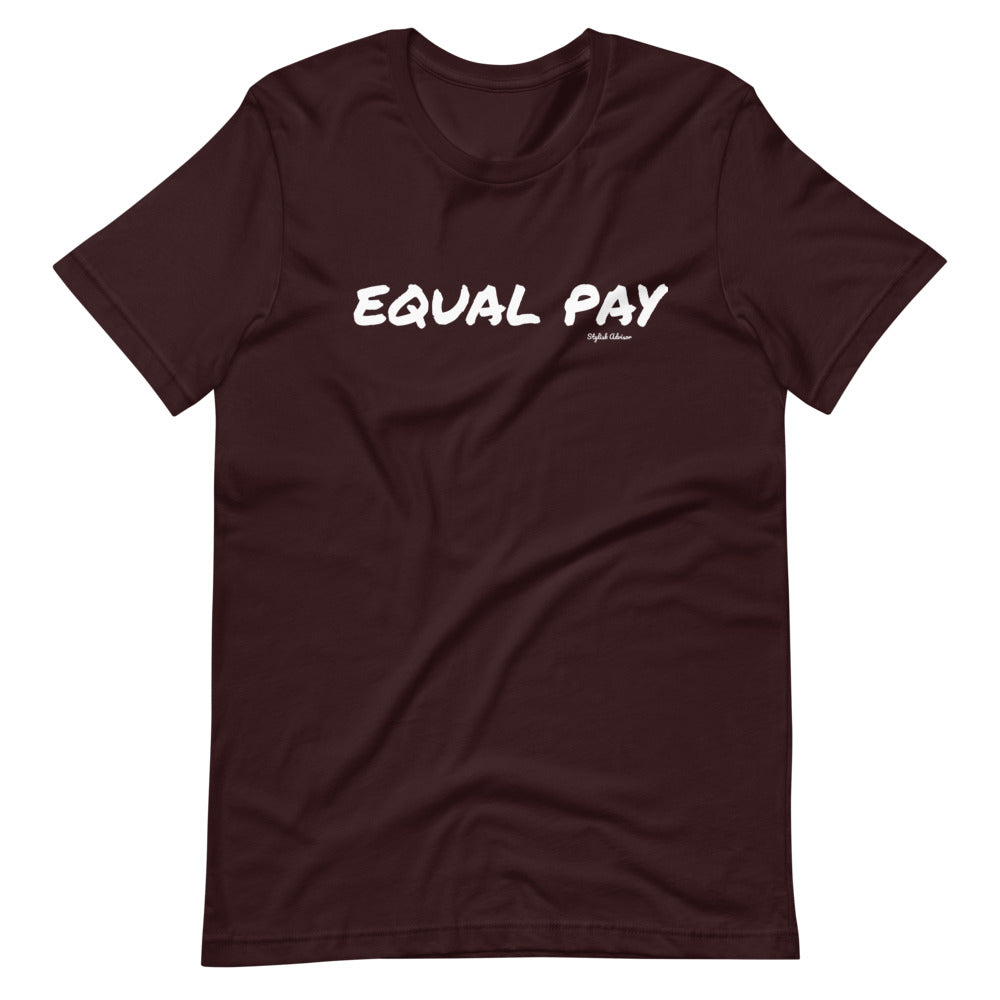 Equal Pay Short-Sleeve Unisex T-Shirt