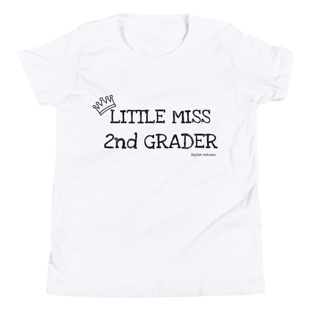 Little Miss 2nd Grader Graphic T-Shirt