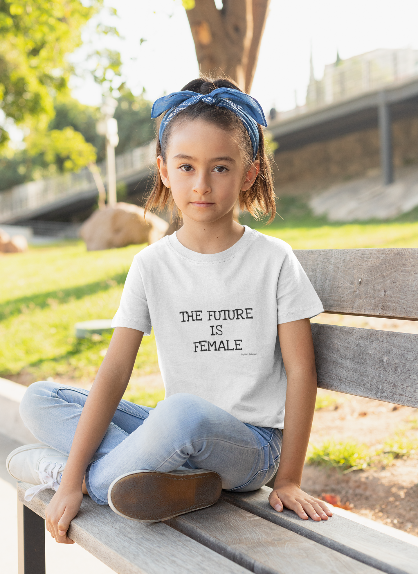 The Future Is Female Girls Graphic T-Shirt