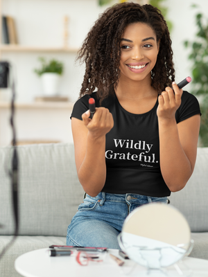 Wildly Grateful Women's Relaxed T-Shirt
