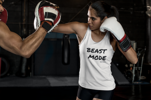 Beast Mode Unisex Tank Top | Gym T Shirt | Work Out Shirt | Empowering T Shirt | Boss T Shirt | Feminist T Shirt