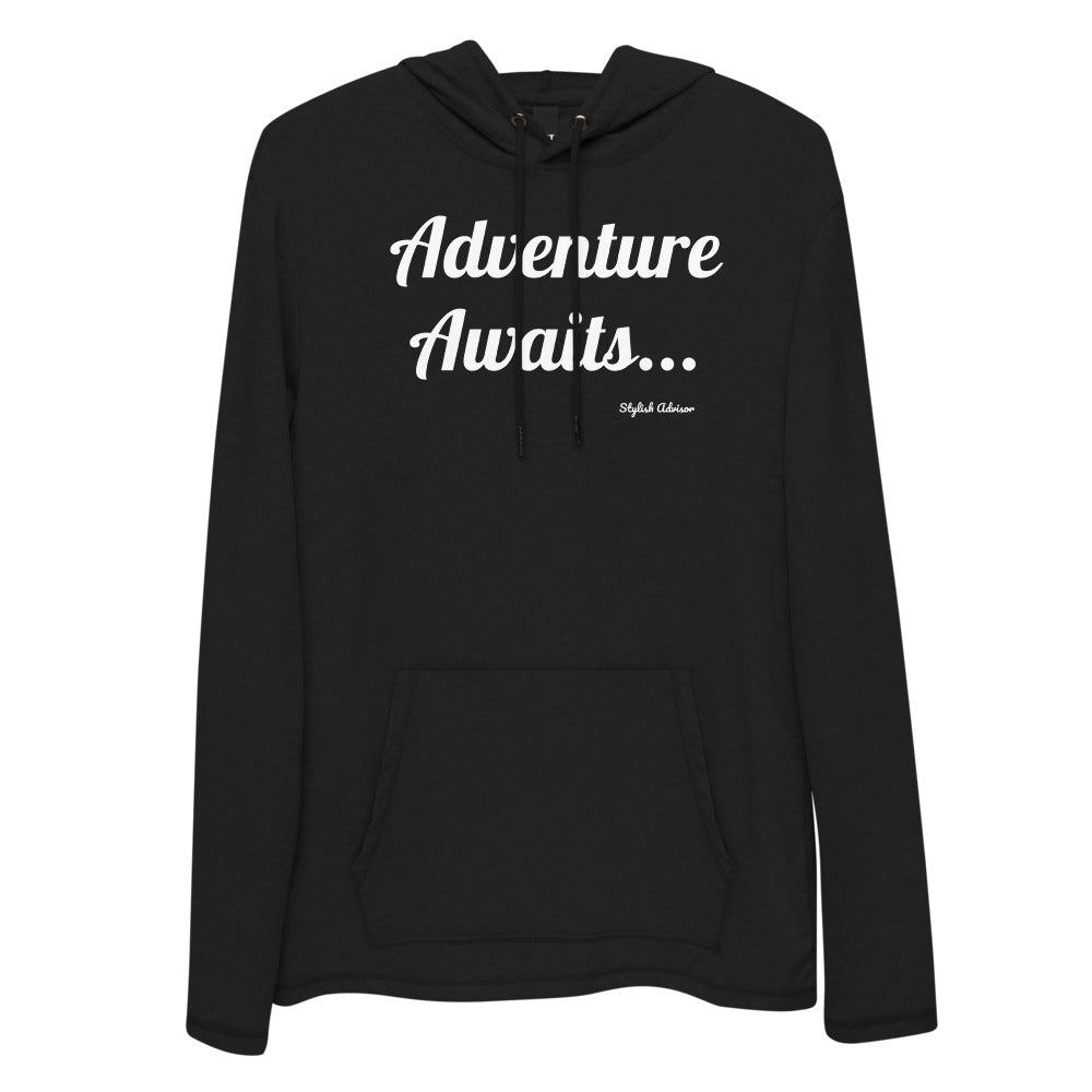 Adventure Awaits Unisex Lightweight Hoodie