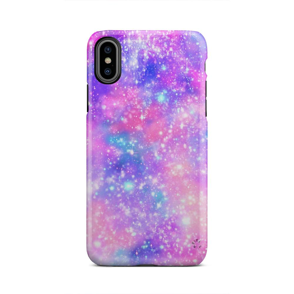 Bright Space Star Burst Outer Space iPhone X