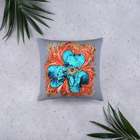 Eye of the Iris Pillow