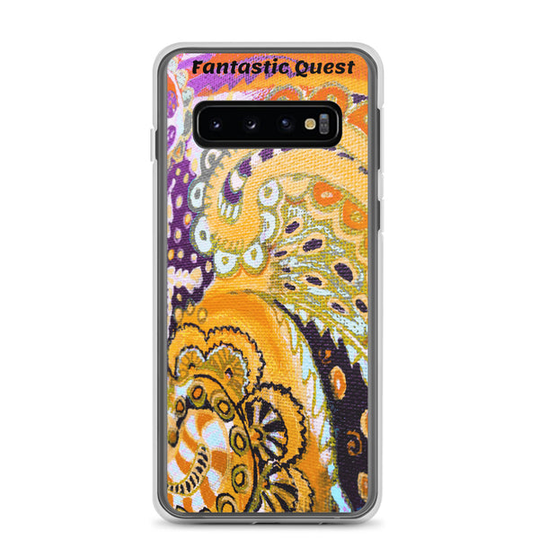 Fantastic Quest Colorful Doodle Samsung Case