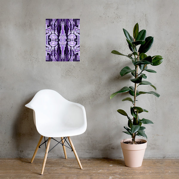 Wood Lace Poster