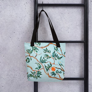 Fantasy Orange Tree Tote bag