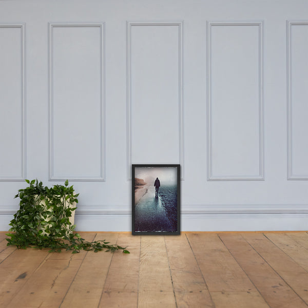 Secret of Life is Motion framed poster