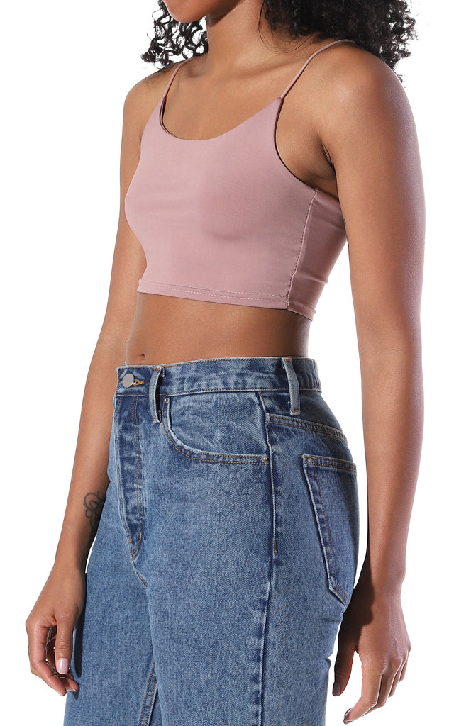 Kylie Crop Top - Pink