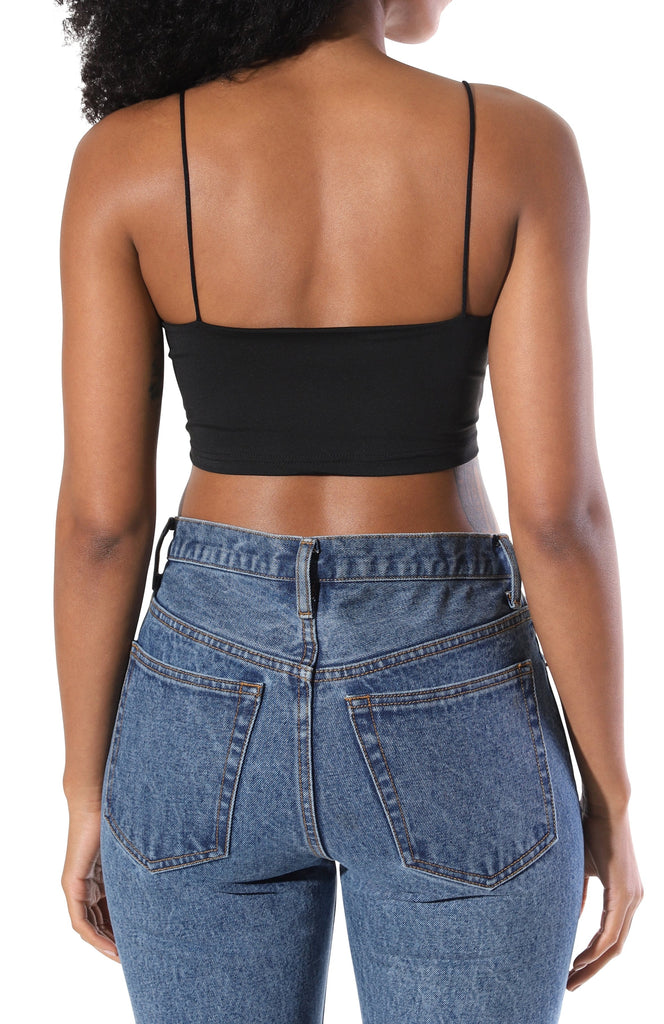 Kylie Crop Top - Black