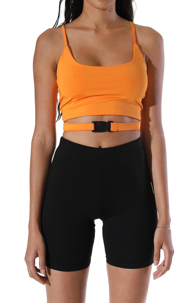 Sasha Tactical Crop Top
