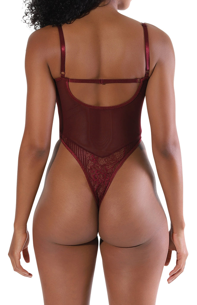Carter Bodysuit - Wine