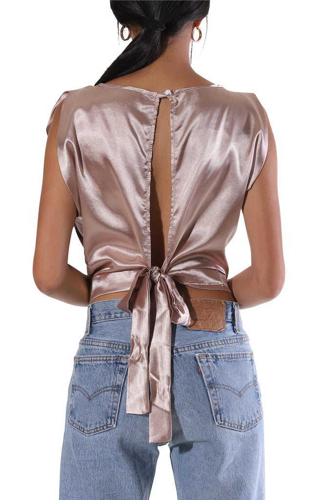 Carly Crop Blouse