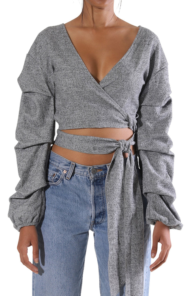 Stella L/S Crop Top