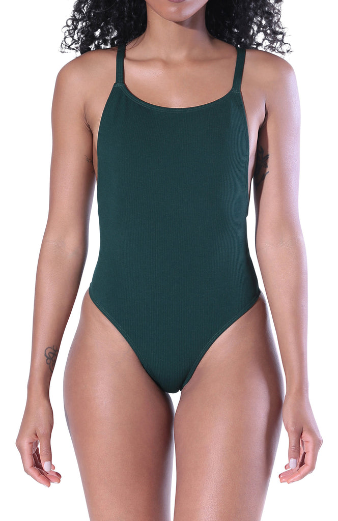 Cora One Piece Swimsuit - Emerald