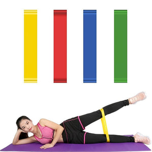 1 2 3Pcs Resistance Band Elastic Exercise Workout Rubber Loop Gym Strength Pilates Fitness Equipment Training Expander 25cm 63