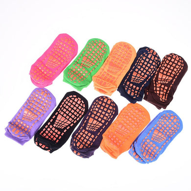 1 Pair Invisible Silicone Socks Yoga Socks Women Terry Backless Cotton Non-slip Pilates Socks Wholesale