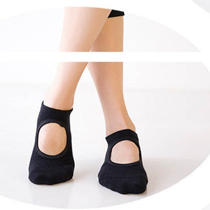 1 Pair Sports Socks Good Flexibility Breathable Cotton Yoga Socks for Balle Dance Fitness Sportswear Accessories size for 34-39
