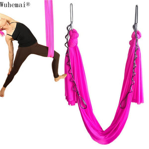 1 meters Tailored length Yoga hammock swing fabric Aerial Traction Flight Anti-gravity Length customization yoga belt yoga hall
