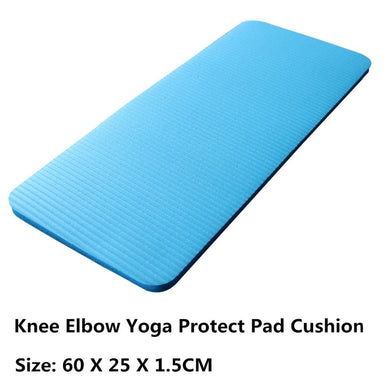 15MM Thick EVA Yoga Mat Comfort Foam Knee Elbow Pad Mats for Exercise Yoga Pilates Indoor Pads Outdoor Garden Fitness Training