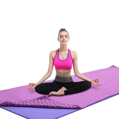 183x63cm Cotton Yoga Blankets Soft Travel Sport Fitness Exercise Yoga Pilates Mat Cover Towel Blanket Non-slip Sports Towel New
